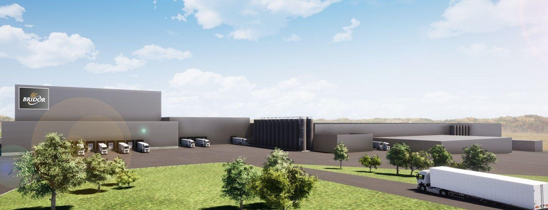 Implantée à Liffré (35), près de Rennes, la troisième usine Bridor va bénéficier des savoir-faire des usines de Servon-sur-Vilaine et de Louverné, toutes proches, et s'approvisionner auprès de ses filières historiques.