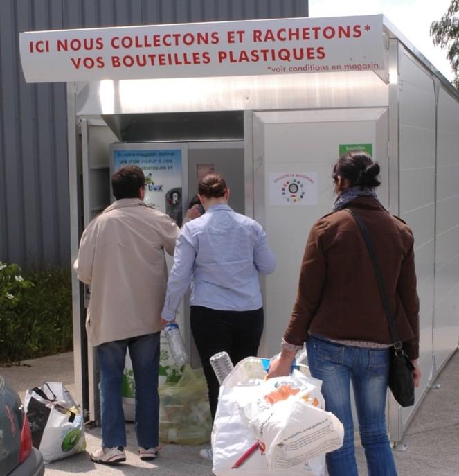 Carrefour Market Recycle Les Bouteilles Plastiques Emballage
