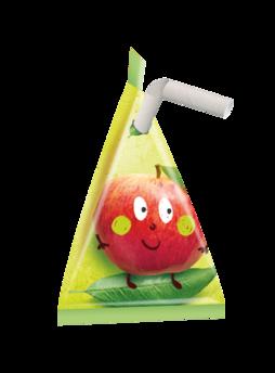Trois recettes de 100 g sans sucres ajoutés sont lancées en berlingot : la compote de pommes x 12 et x 24, la compote de pommes bio x 8 et le smoothie pomme-pêche-abricot x 12.