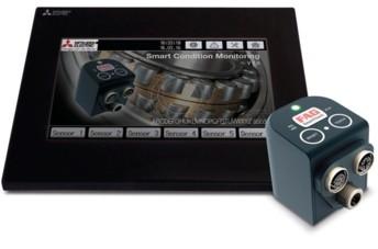 La solution SCM (Smart Condition Monitoring) comprend des capteurs intelligents, développés par l'expert en roulement Fag, qui peuvent être fixés à des boîtiers de roulements, des réducteurs, des pompes et des moteurs. Ils permettent de détecter quand l'équipement commence à fonctionner hors de son périmètre normal. (Source : Mitsubishi Electric Europe B.V.)