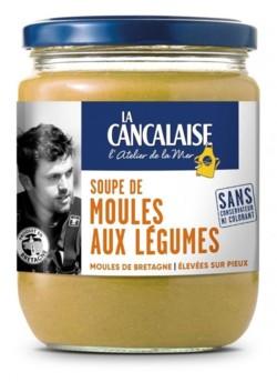 La Cancalaise a été honorée par le Coup de coeur du jury du concours Isogone 2019 avec sa soupe de moule aux légumes.