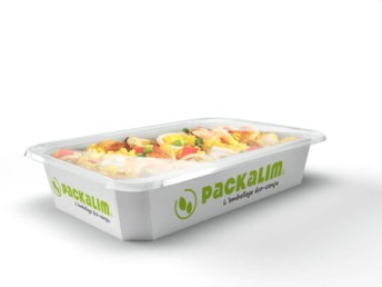 Pour illustrer la transition environnementale des lignes agro sur l'espace Usine Agro du Futur du CFIA, Packalim et Guelt mettent à profit leurs 20 années de collaboration dans le domaine de l'emballage mixte carton-plastique.