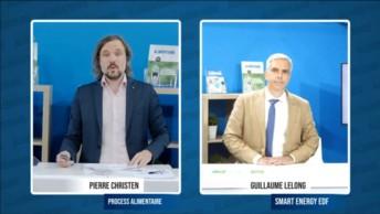 Lors de la webconférence Cap sur la neutralité carbone, animée par Pierre Christen (Process Alimentaire), Guillaume Lelong (EDF) a mis en exergue les arguments clefs pour engager une stratégie de décarbonation.