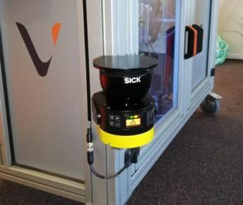 Le scrutateur de sécurité MicroScan3 de Sick permet de définir différentes zones autour d'une machine potentiellement dangereuse.