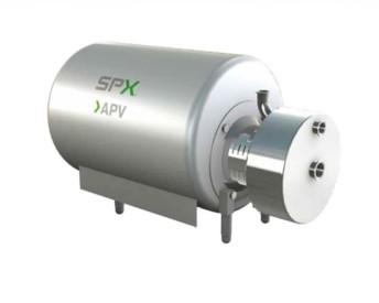 Le système APV Cavitator peut s'insérer entre différentes étapes de préparation du mix pour optimiser les processus physiques et apporter des propriétés particulières à la crème glacée.