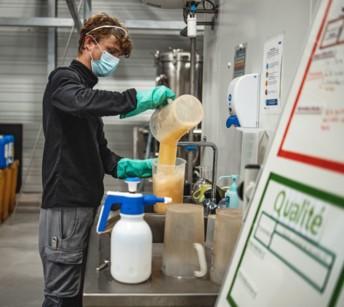 Brasserie de Bretagne lève le voile sur le développement de ses premières bières bio sans alcool Dremmwel et Ar-Men (Photo DR)