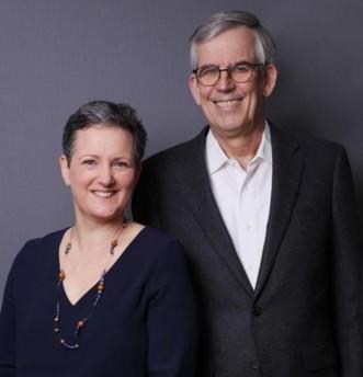 Emmanuelle Buffet, nouvelle déléguée générale d'Elipso, aux côtés de Christian Théry, nouveau président de l'association.