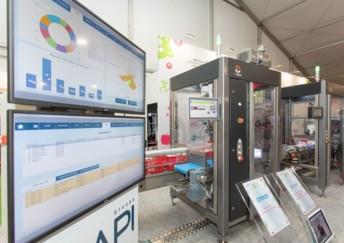 Au CFIA 2021, du 9 au 11 juin au Parc Expo de Rennes Aéroport, l'espace Usine Agro du Futur illustre cinq enjeux stratégiques de l'industrie dont la transition numérique, en s'appuyant sur des outils digitaux accessibles à toutes les tailles d'entreprises (crédit : BDI)
