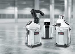 Robot APAS de Bosch Rexroth - Crédit photo : Bosch Rexroth.