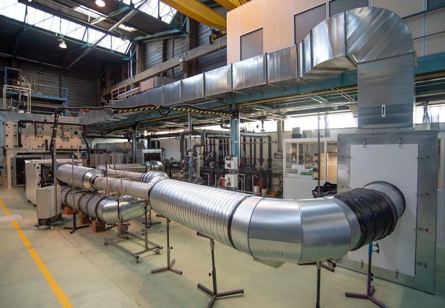 Le 24 octobre 2019, le Cetiat a inauguré à Villeurbanne (69) une nouvelle plate-forme d'essais de centrales de traitement d'air (CTA).