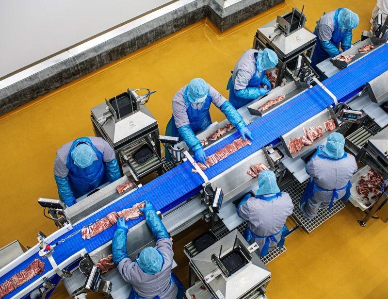 Les quatre lignes de conditionnement du nouveau site Danish Crown à Shanghai sont équipées de solutions flexibles Ishida.