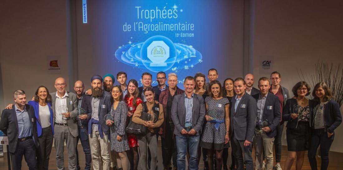 Les lauréats des 13ème Trophées de l'agroalimentaire normand, lors de la remise des prix le 17 octobre dernier.