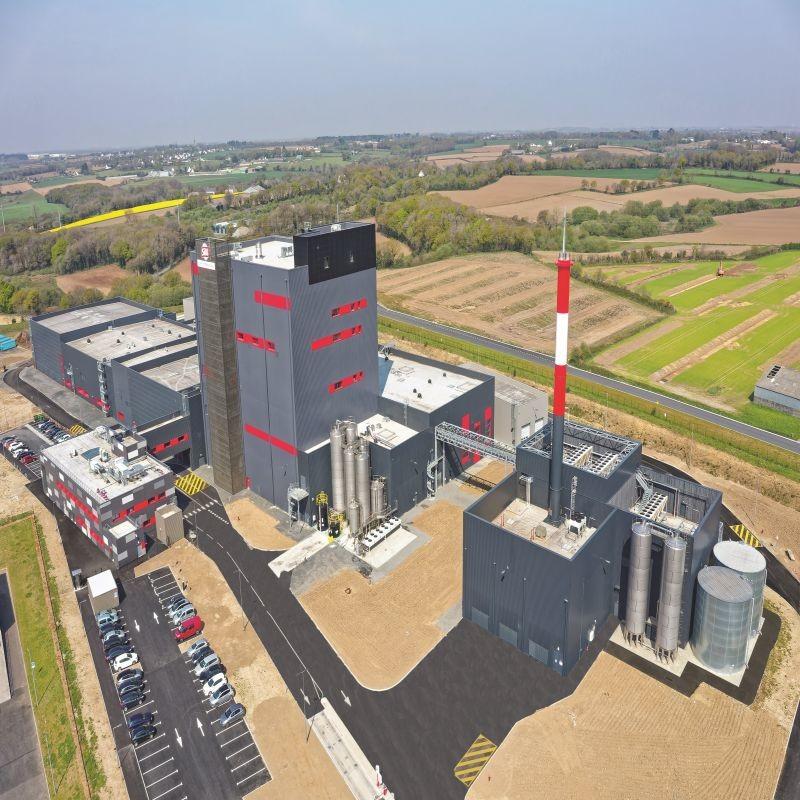 Le groupe Idec Agro & Factory a livré en février le nouveau site de production de poudres infantiles du groupe Sill à Landivisiau (29). Crédit : Cyrille DUBREUIL