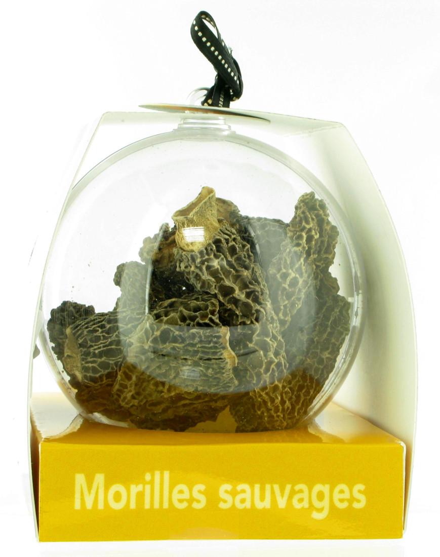 Borde est le leader national des champignons sylvestres déshydratés et appertisés. L'entreprise familiale basée à Saugue en Haute-Loire et  dirigée par Alain Borde souhaitait mettre en valeur une gamme premium (morilles sauvages, cèpes des bois , mousserons des prés). D'où cette boule transparente, conditionnant 25 grammes de champignons.