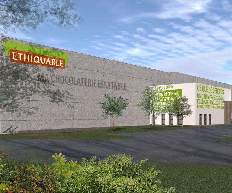 La chocolaterie Éthiquable dédiée au chocolat bio et équitable sera opérationnelle au printemps 2021 à Fleurance (32).