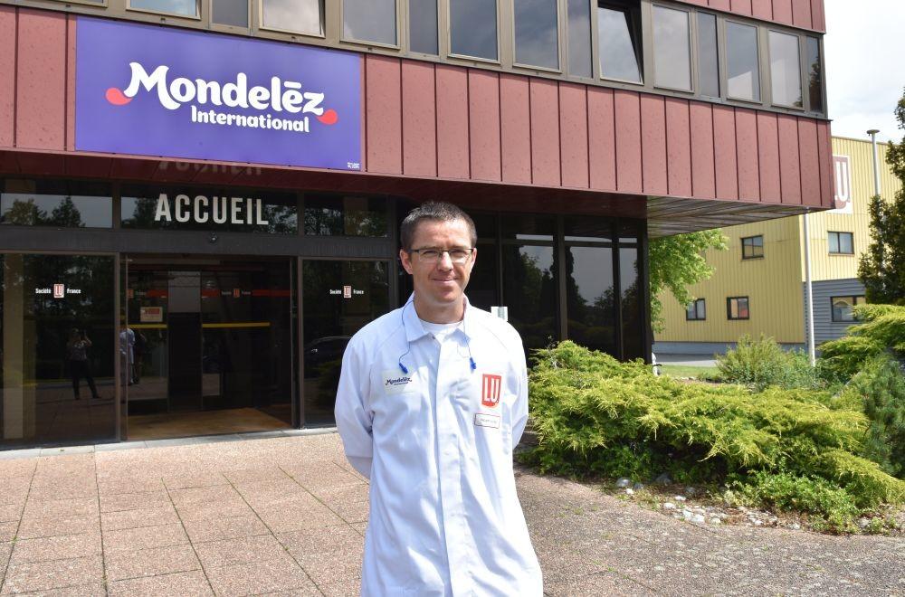 L'usine Pelletier de Mondelez est dirigée par Julien Picart. Le site fabrique du pain grillé, des biscottes et des produits extrudés.