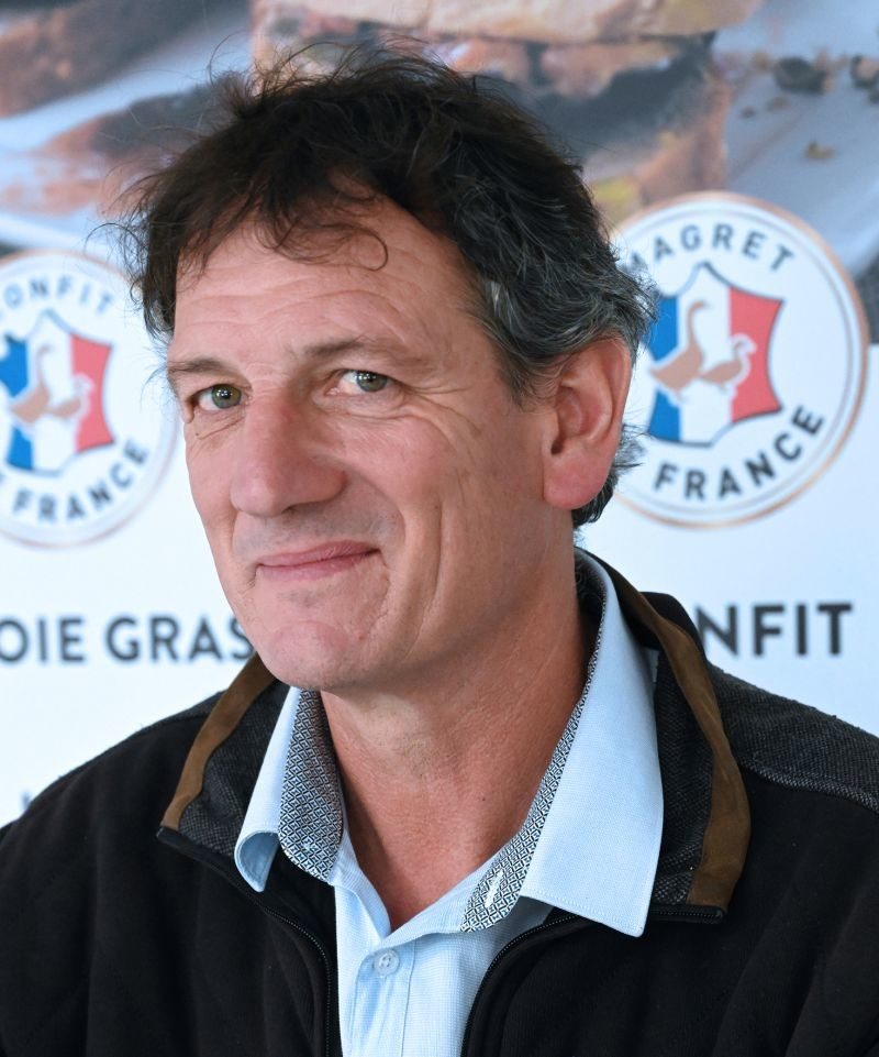Éric Dumas, 55 ans, vient d'être élu président du Cifog (Comité interprofessionnel des palmipèdes à foie gras), qui regroupe toutes les familles professionnelles de la filière française.
