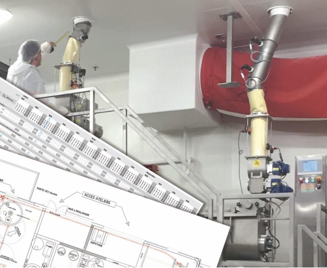 Les partenaires techniques et institutionnels de l'agroalimentaire sont mobilisés pour accompagner et faciliter la continuité des activités industrielles. (crédit photo Apia Technologie)