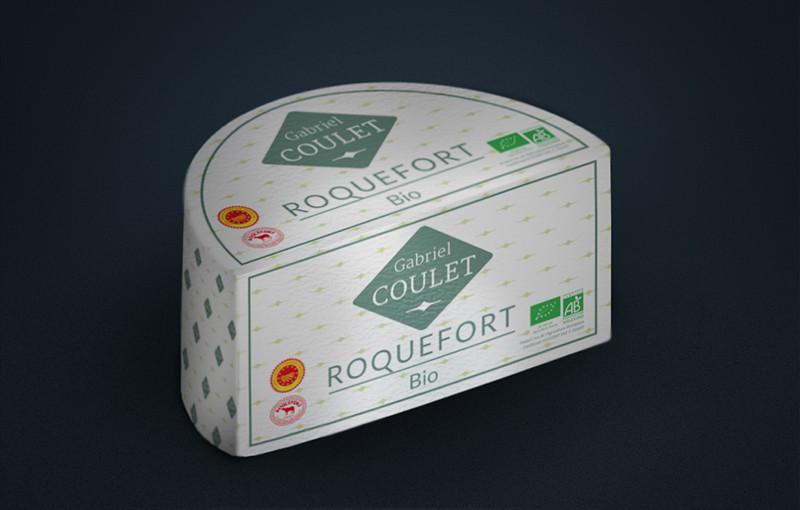 Le fromage Roquefort bio de Gabriel Coulet (Aveyron).