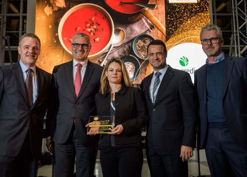 En 2017, Ingredion était l'un des lauréats des FI Innovation Awards. Crédit photo : UBM