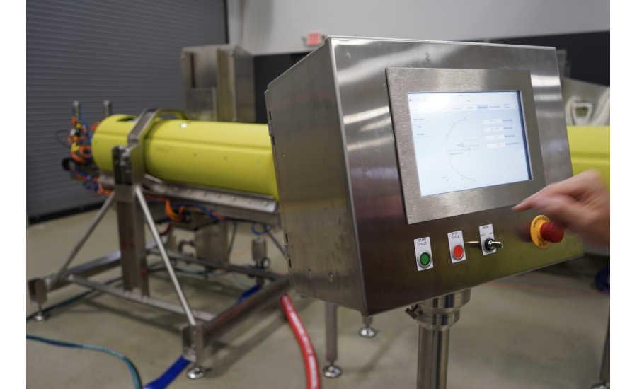 La machine de traitement par hautes pressions Flexibulk de JBT-Avure se distingue par sa polyvalence. Elle est capable de traiter à haute cadence des produits en vrac et conditionnés.