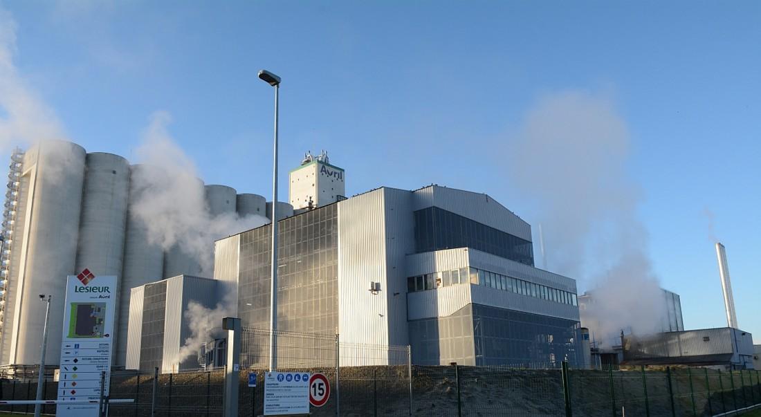 La nouvelle usine Lesieur a quitté le quartier Bacalan de Bordeaux pour rejoindre Bassens au coeur d'un pôle agro-industriel Avril. Elle jouxte l'usine Saipol (groupe Avril) de trituration de graines de colza et de tournesol, qui la fournit en huiles raffinées via un rack. L'usine Saipol compte 105 salariés. Elle transforme 720 000 tonnes de graines de colza et de tournesol par an. Elle bénéficie d'un accès multimodal (fluvial, ferroviaire, routier, pipe) pour l'approvisionnement en grains, en provenance essentiellement du Sud-Ouest.