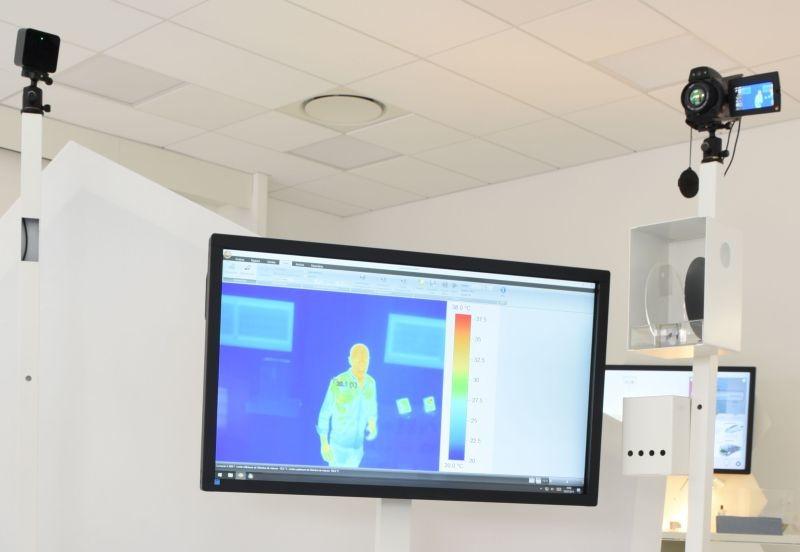 Implanté depuis un an à Quimper (29), le CEA Tech a inauguré début juillet une plate-forme regroupant sur 160 m² des démonstrateurs de technologies inédites. Ici, un détecteur  infra-rouge ultra-sensible et haute résolution.