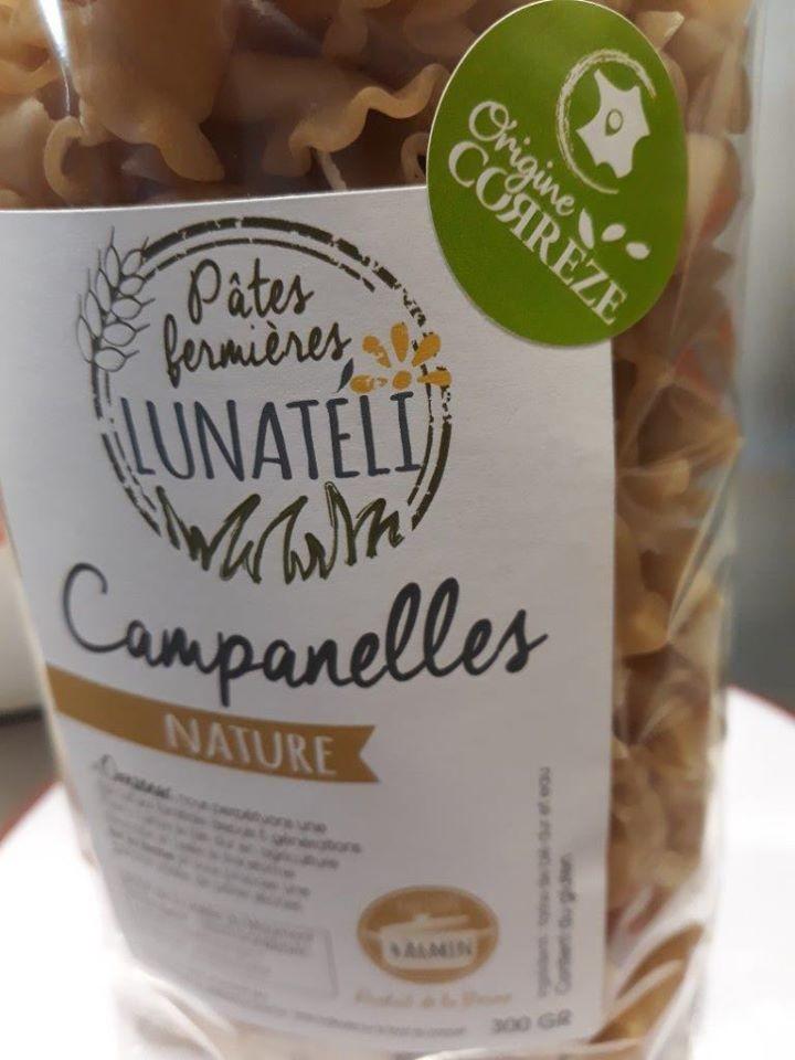 Les pâtes sèches fermières Lunatéli de la SCEA La Vallée de Maumont en Corrèze.