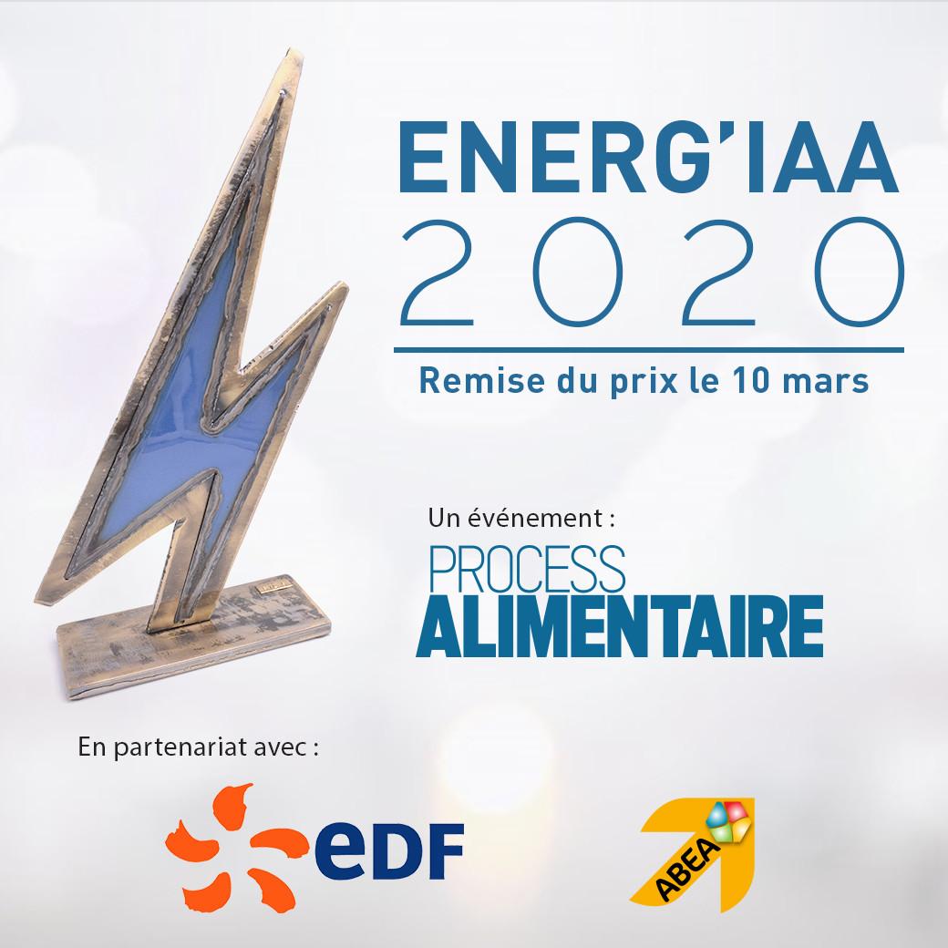 Le prix de la performance énergétique, organisé par Process Alimentaire avec le soutien d'EDF et le parrainage de l'ABEA, sera remis sur le salon CFIA le 10 mars. Trois finalistes sont en lice : Castel Viandes, La Normandise et Réo.