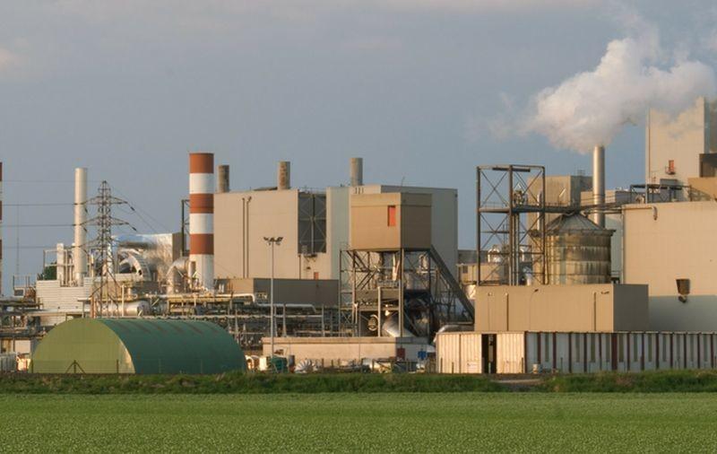 La nouvelle usine d'InnovaFeed à Nesle (80) est adossée au site de Tereos afin d'utiliser ses coproduits d'amidonnerie. Crédit photo Innovafeed.
