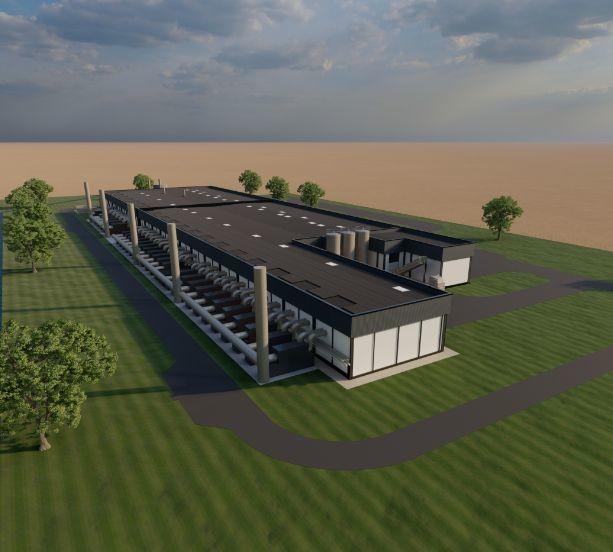 Agronutris construit sa première unité de production à Rethel dans les Ardennes. Les premières productions seront dédiées au petfood et à l'aquaculture. Crédit  : Agronutris