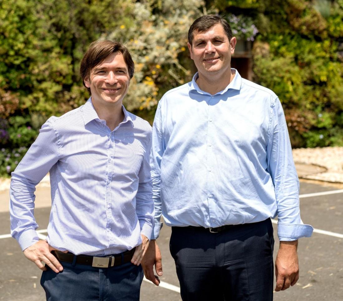 Julien Chabrol et Denis Lainé dirigent Biovence depuis 2008. L'entreprise basée à Entraigues sur la Sorgue (84) produit des pâtes 100 % bio.