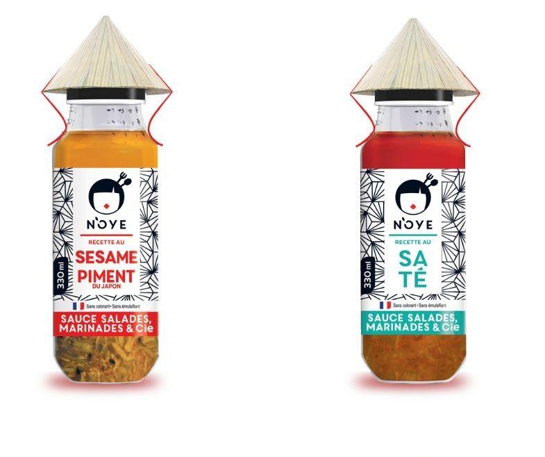 L'Award d'Or du concours Innovafood 2019 a été attribué à Normand'Asie pour sa gamme N'Oye Sauces, Marinades et Compagnie.
