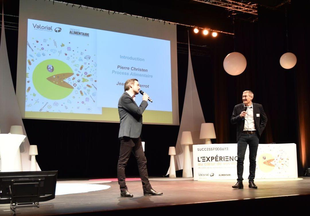 Success Fooday a réuni plus de 200 personnes sur le thème de l'expérience client le 3 décembre à Pacé près de Rennes. Une journée animée par Pierre Christen (Process Alimentaire) et introduite par Jean-Luc Perrot (Valorial).