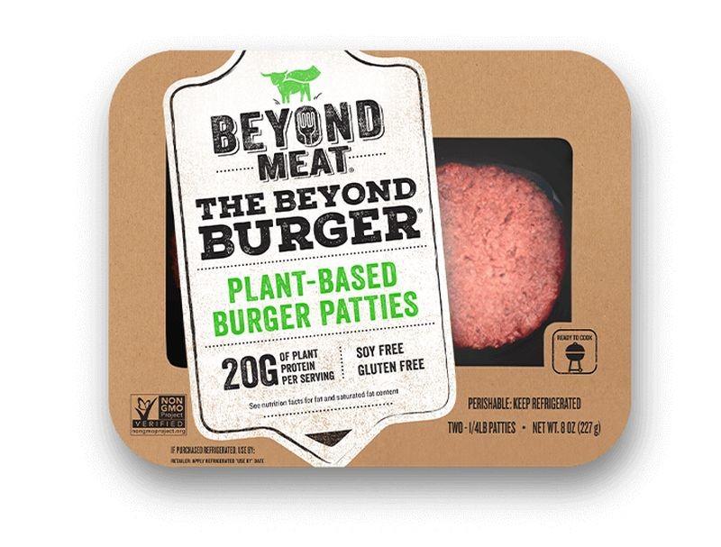 Beyond Meat confirme fin mai son arrivée sur le territoire européen. Déjà commercialisé en Belgique, aux Pays-Bas et au Royaume-Uni, le célèbre Beyond Burger sera bientôt produit à Zoeterwoude (Pays-Bas). Crédit photo Beyond Meat