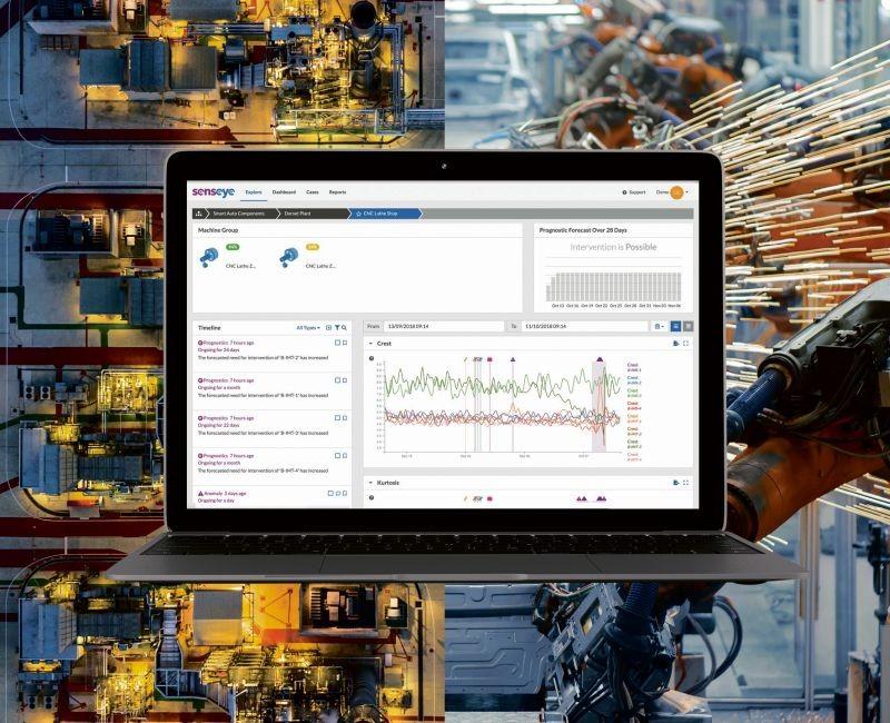 Senseye est le logiciel de maintenance prédictive hébergé dans le cloud et commercialisé en Saas (Software as a service) par l'éditeur du même nom, fondé en 2014 au Royaume-Uni.