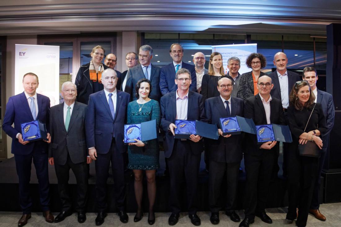 Les lauréats de la quatrième édition du prix EY de l'Agroalimentaire 2020 ont été dévoilés mercredi 29 janvier, lors des vœux de l'Ania (Association Nationale des Industries Alimentaires), partenaire de l'événement. Cinq prix ont été décernés : le Grand Prix, le Prix de la Performance remarquable, le Prix de l'Avenir, le Prix de l'Engagement sociétal et le prix Coup de cœur.